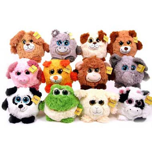 Pliš loptaste životinje 22cm 39012 - ODDO igračke