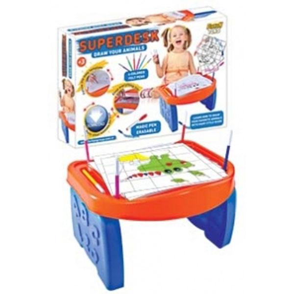 Sto za crtanje Superdesk Animals FR55696 - ODDO igračke