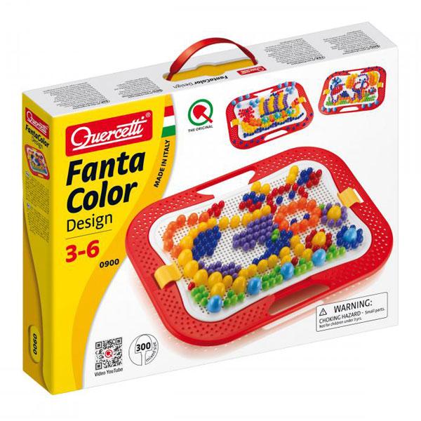 Quercetti Mozaik 300pcs (10,15,20 mm) 0900 - ODDO igračke