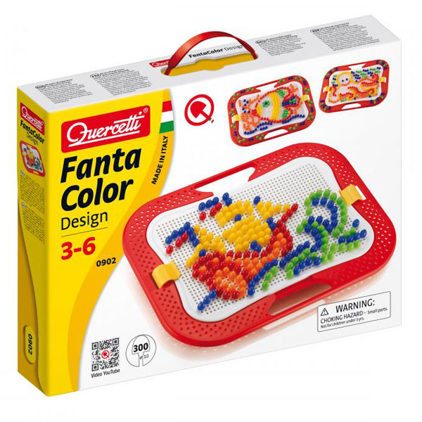 Quercetti Mozaik 300pcs 0902 - ODDO igračke