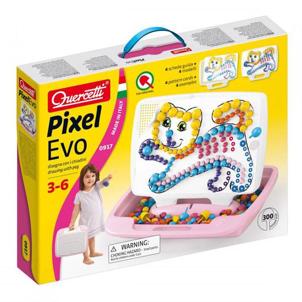 Quercetti Mozaik Girl Veliki 300pcs 0917 - ODDO igračke