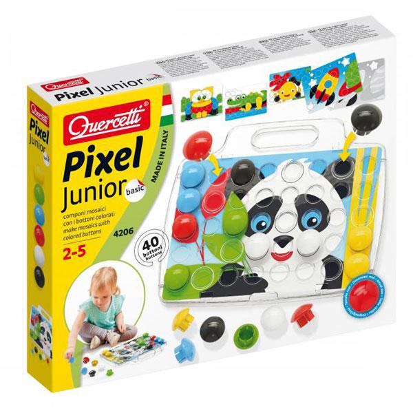Quercetti Mozaik Junior 8 Slika 40pcs 4206 - ODDO igračke