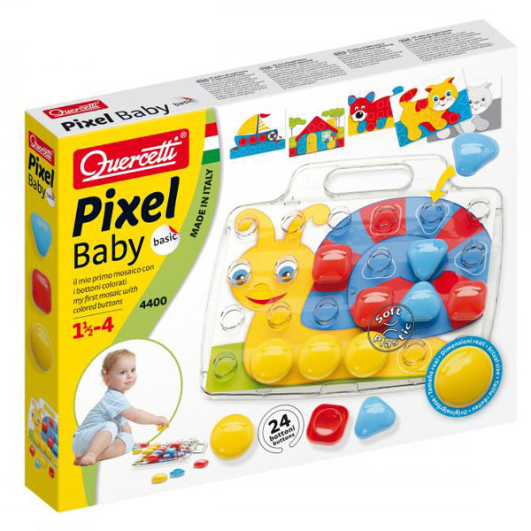Quercetti Mozaik Baby 8 Slika 24 pcs 4400 - ODDO igračke