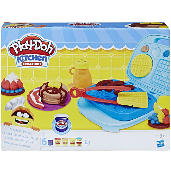 Plastelin PlayDoh Breakfast Bakery B9739 - ODDO igračke