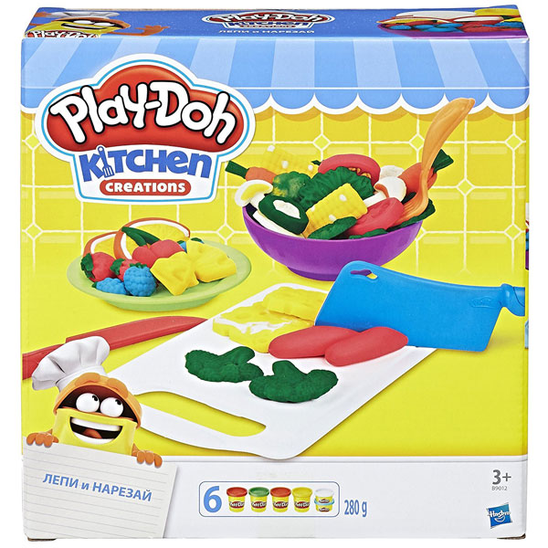 PlayDoh Plastelin Shape N Slice Set B9012 - ODDO igračke