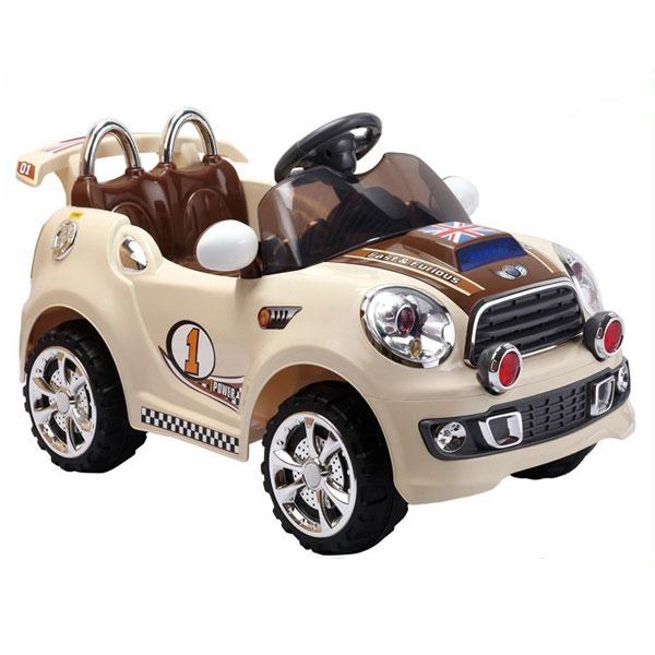 Auto Mini Moris sa daljinskim upravljačem bež 305213 R1207 - ODDO igračke