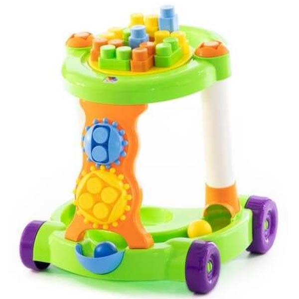 Kolica sa kockama Molto Baby Walker Polesie 058133 - ODDO igračke