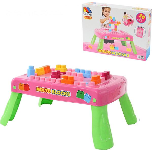 Sto sa kockama sklopivi BR58003 - ODDO igračke