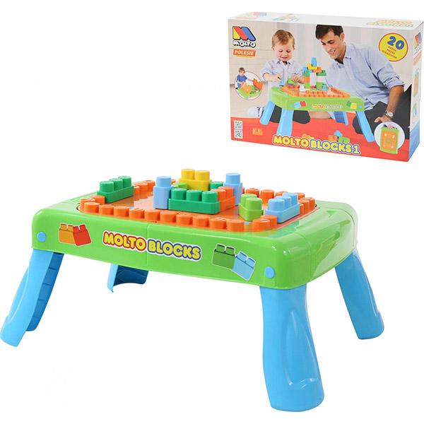 Sto sa kockama sklopivi BR57983 - ODDO igračke