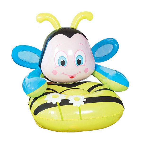 Fotelja na naduvavanje pčelica 79x89x79cm 14-75062 - ODDO igračke