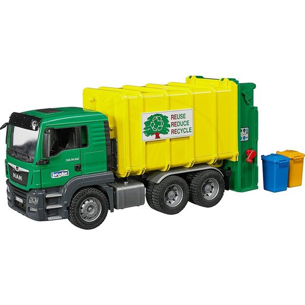Kamion MAN TGS đubretarac zeleni 037642 - ODDO igračke