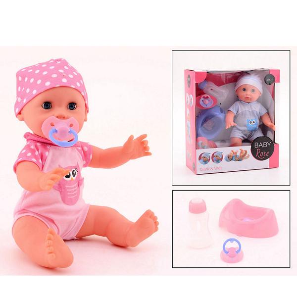 Rose Lutka beba pije i piški 35cm 27547 - ODDO igračke