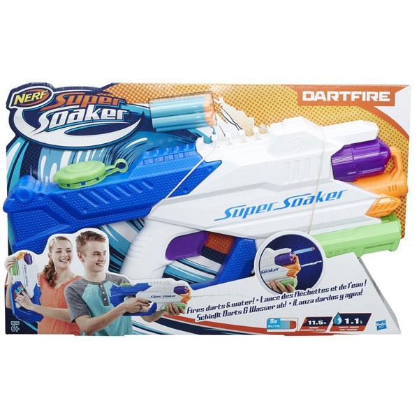 Nerf pištolj na vodu Super Soaker DartFire Nerf B8246 - ODDO igračke