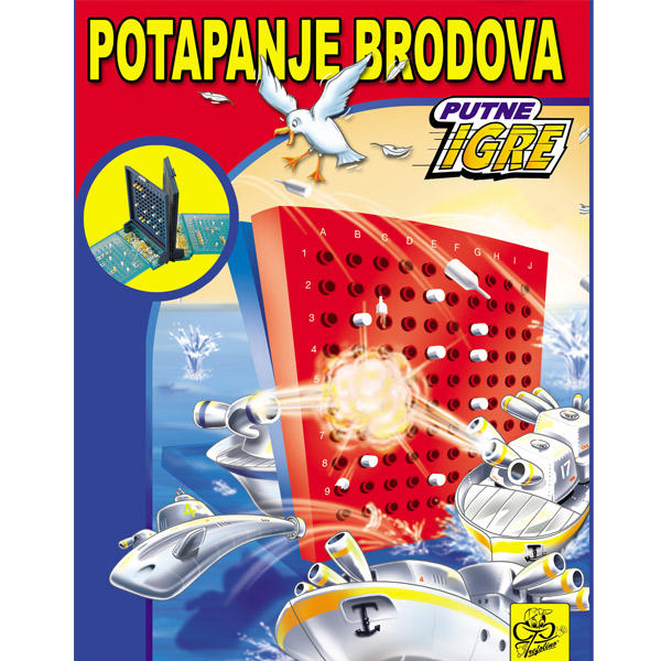 Društvena igra Potapanje brodova 013293 - ODDO igračke