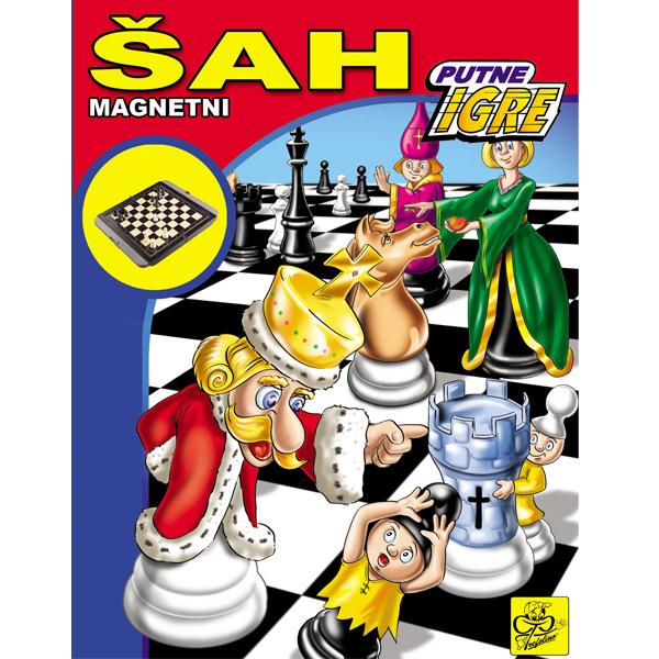 Magnetni  šah - putna igra 013294 - ODDO igračke