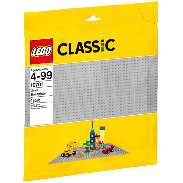 LEGO Classic Siva podloga LE10701 - ODDO igračke