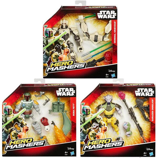 Star Wars Super Hero Mashers figura 22cm sa dodatcima B3666 - ODDO igračke