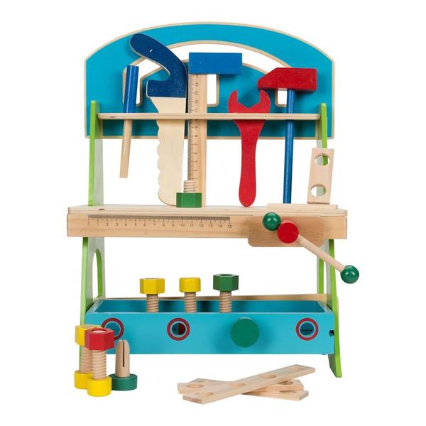 Drvena radionica sa alatom 20pcs 36986 - ODDO igračke