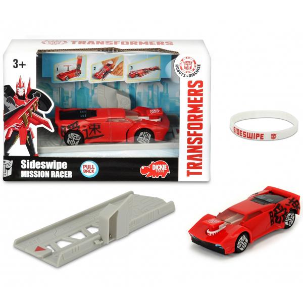Transformers auto Sideswipe mission racer 203112002 - ODDO igračke