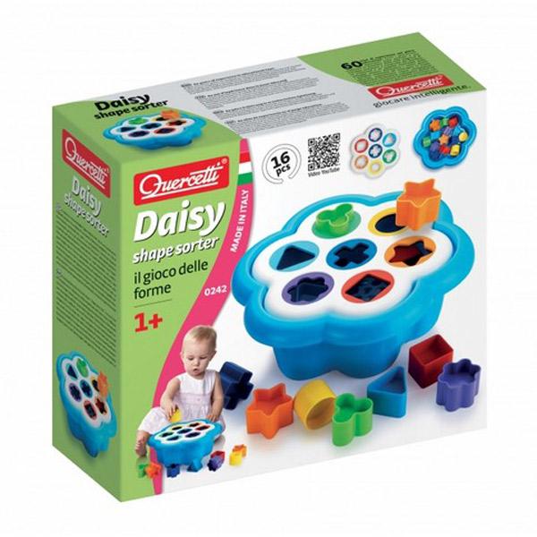 Quercetti Fanta Color Shape Sorter Pogodi Oblik Cvet 0242 - ODDO igračke