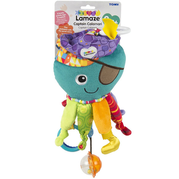 Plišana igračka Oktopod Gusar Lamaze TM27068 - ODDO igračke