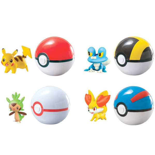 Pokemon figure Clip N Carry Tomy TMT18532D - ODDO igračke