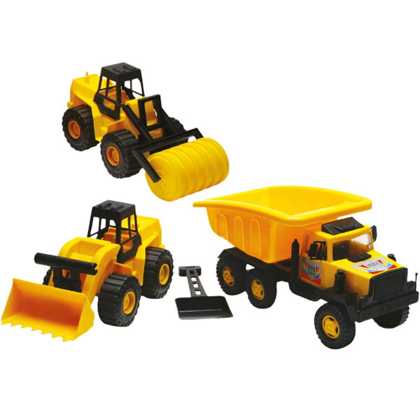 Bager, valjak i kamion Triple Construction 1217 33106 - ODDO igračke