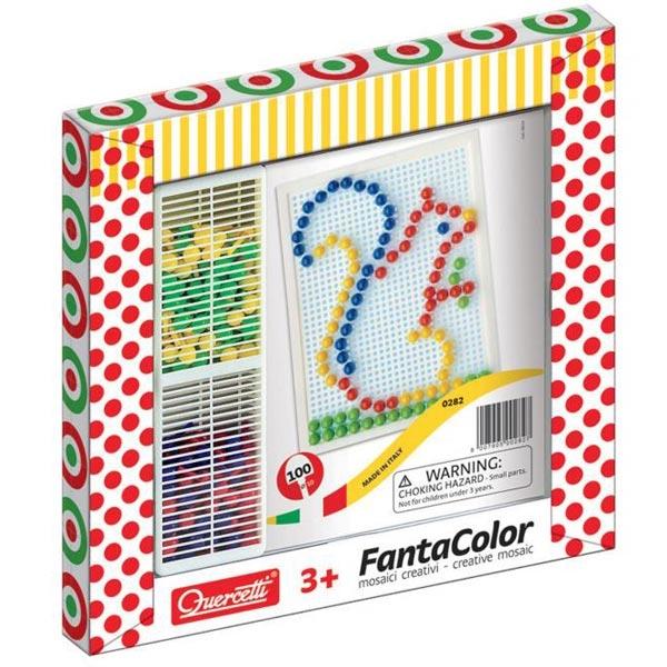 Quercetti Fanta Color Mozaik 100pcs 0282 - ODDO igračke