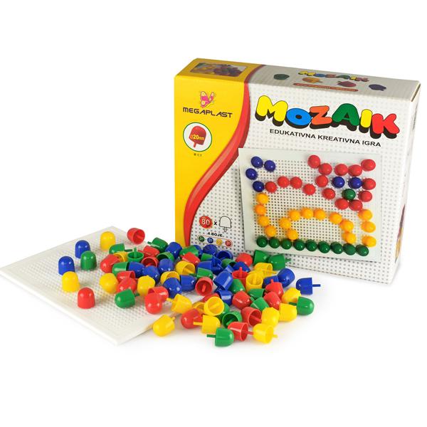 Megaplast Mozaik Bockalice M20 3950841 - ODDO igračke