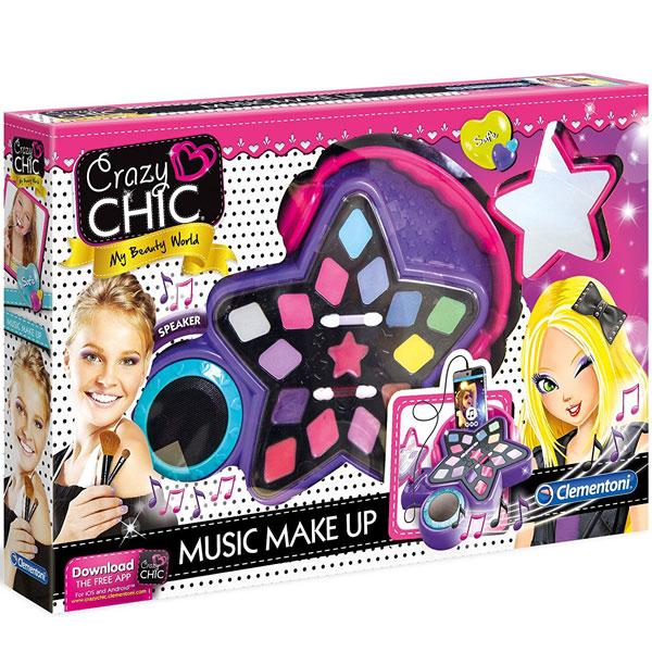 Make up set muzički Crazy Chic CL15137 - ODDO igračke