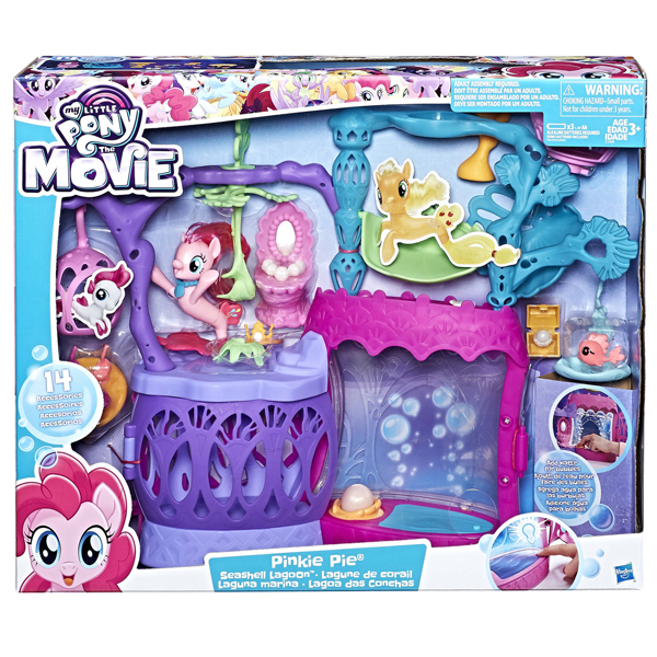 My Little Pony the Movie Seashell Lagoon set za igru C1058 - ODDO igračke