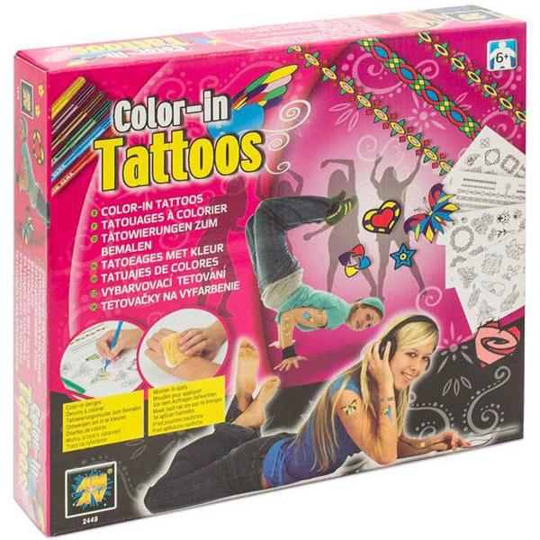 Diamant Toys Tetovaže za devojčice DM2448 - ODDO igračke