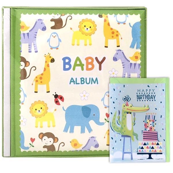 Album 10X15/120 Baby Zoo u kutiji K2586_1 i poklon čestitka - ODDO igračke