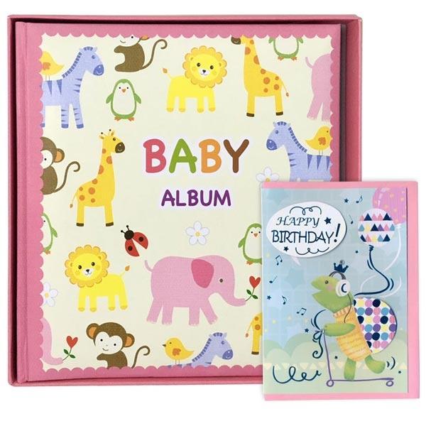 Album 10X15/120 Baby Zoo u kutiji K2586_2 i poklon čestitka - ODDO igračke
