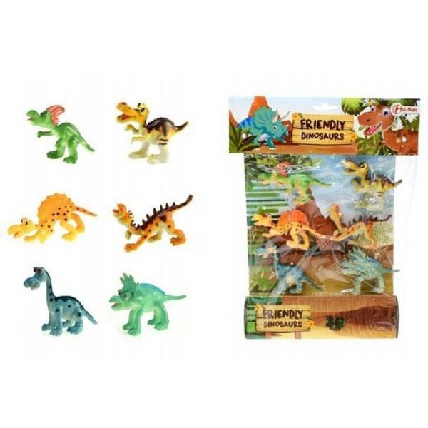 Dinosaurus Friendly, kesa 6 komada 33313 - ODDO igračke