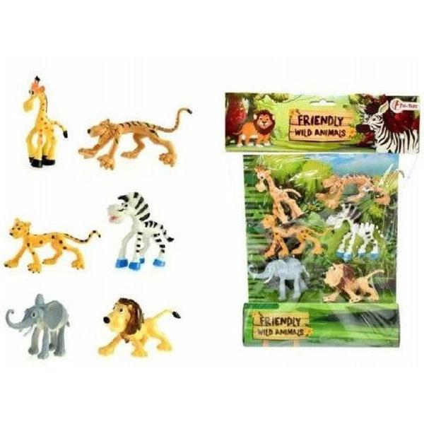 Divlje zivotinje Friendly, kesa 6 kom 33315 - ODDO igračke
