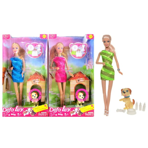 Lutka Defa i kućni ljubimac 8232 - ODDO igračke