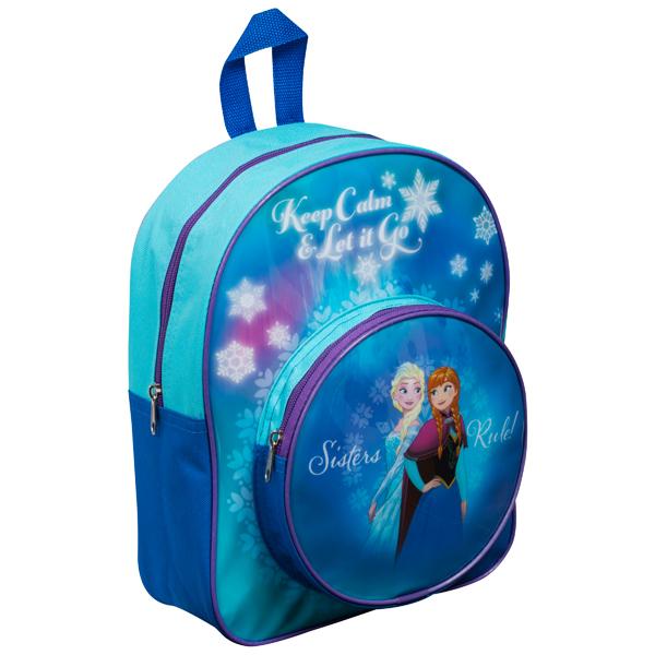 Predškolski ranac sa okruglim dzepom Frozen 32x26x10cm DFR8-8043 - ODDO igračke