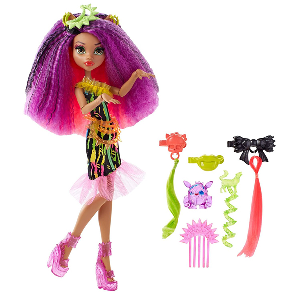 Monster High Lutka Electrified Monstrous Hair Clawdeen Wolf DVH69 - ODDO igračke