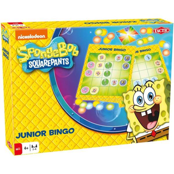 Sundjer Bob Junior Bingo T52737 - ODDO igračke
