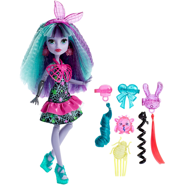 Monster High Lutka Electrified Monstrous Hair Twyla DVH69 - ODDO igračke