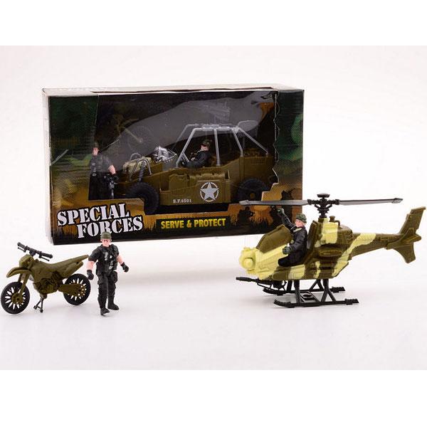 Army Forces Vojni set srednji 2ass 26019 - ODDO igračke
