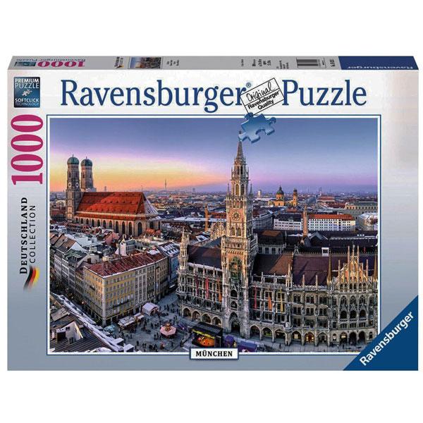 Ravensburger puzzle (slagalice) Minhen Marienplatz RA19426 - ODDO igračke
