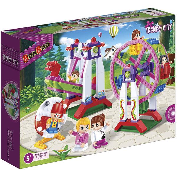 BanBao kocke Zabavni park 6110 - ODDO igračke
