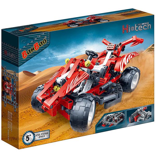 BanBao kocke Trkački automobil crveni 6955 - ODDO igračke