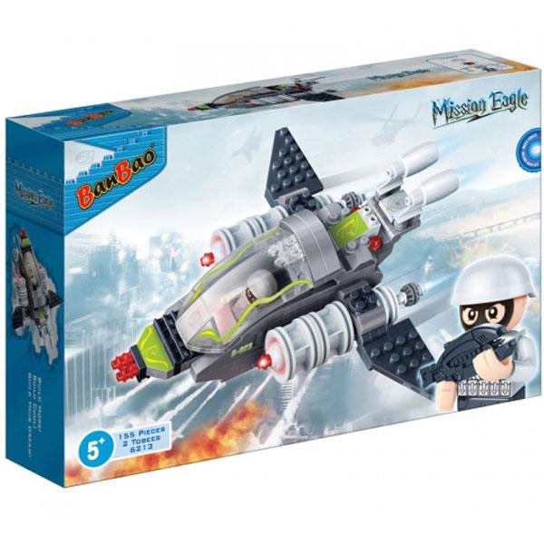 BanBao kocke Borbeni avion 6213 - ODDO igračke