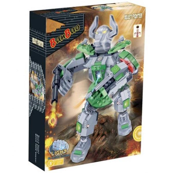 BanBao kocke Robot Herkules 6313 - ODDO igračke