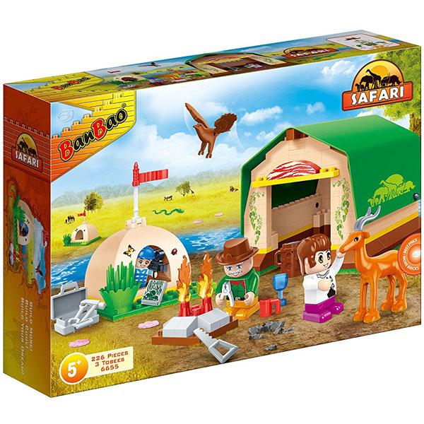 BanBao kocke Safari set za kamp 6655 - ODDO igračke