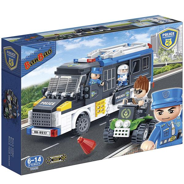 BanBao kocke Policijsko vozilo 7003B - ODDO igračke