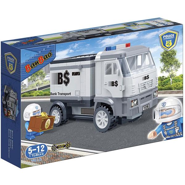 BanBao kocke Policijsko sigurnosno vozilo 7016 - ODDO igračke